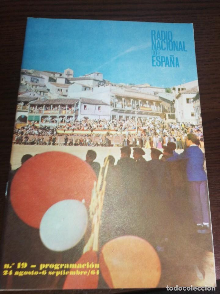 BOLETÍN OFICIAL RADIO NACIONAL DE ESPAÑA (1964) (Radios, Gramófonos, Grabadoras y Otros - Catálogos, Publicidad y Libros de Radio)