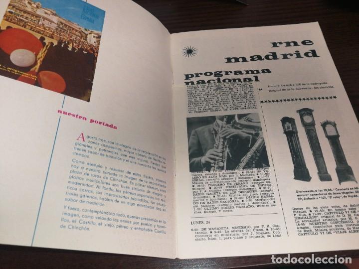 Radios antiguas: BOLETÍN OFICIAL RADIO NACIONAL DE ESPAÑA (1964) - Foto 2 - 224978460