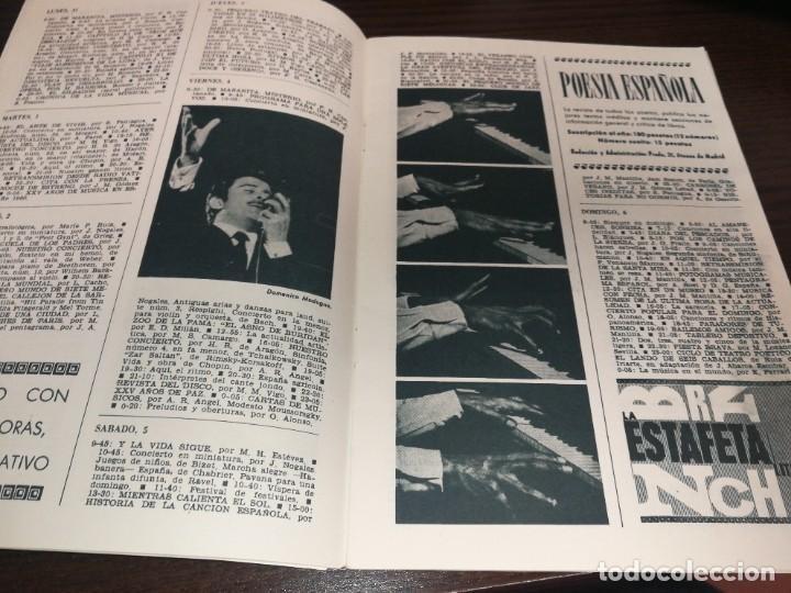 Radios antiguas: BOLETÍN OFICIAL RADIO NACIONAL DE ESPAÑA (1964) - Foto 3 - 224978460