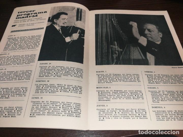 Radios antiguas: BOLETÍN OFICIAL RADIO NACIONAL DE ESPAÑA (1964) - Foto 4 - 224978460