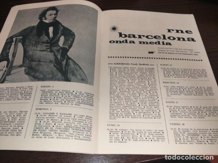 Radios antiguas: BOLETÍN OFICIAL RADIO NACIONAL DE ESPAÑA (1964) - Foto 5 - 224978460