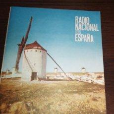 Radios antiguas: BOLETÍN OFICIAL RADIO NACIONAL DE ESPAÑA (1964). Lote 224979093