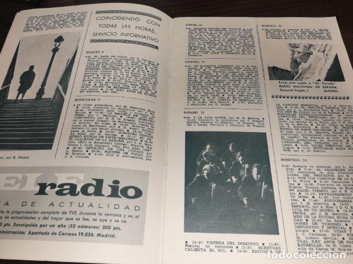 Radios antiguas: BOLETÍN OFICIAL RADIO NACIONAL DE ESPAÑA (1964) - Foto 3 - 224979093