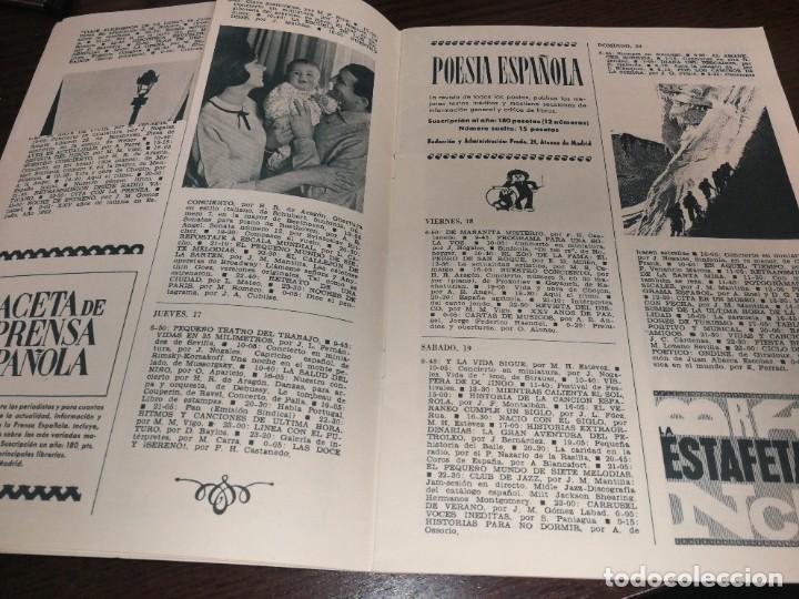Radios antiguas: BOLETÍN OFICIAL RADIO NACIONAL DE ESPAÑA (1964) - Foto 4 - 224979093