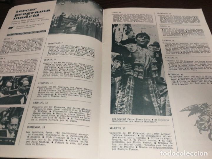 Radios antiguas: BOLETÍN OFICIAL RADIO NACIONAL DE ESPAÑA (1964) - Foto 5 - 224979093