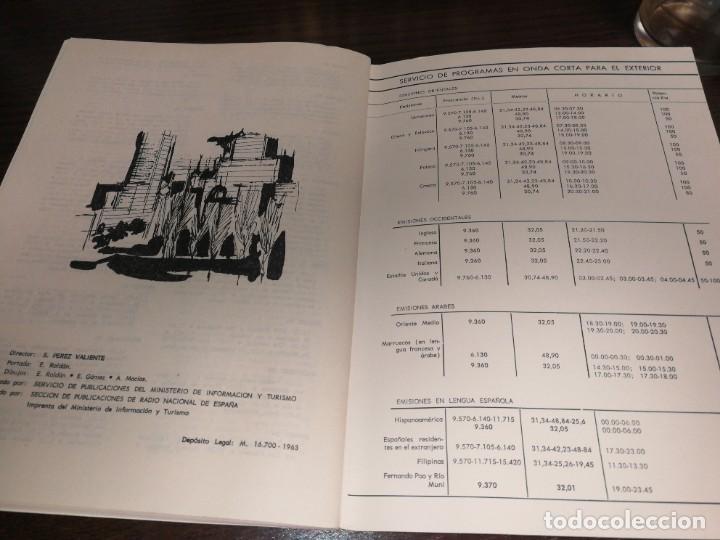 Radios antiguas: BOLETÍN OFICIAL RADIO NACIONAL ESPAÑA 1966 - Foto 5 - 225079313