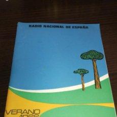 Radios antiguas: BOLETÍN OFICIAL RADIO NACIONAL ESPAÑA 1966. Lote 225079397