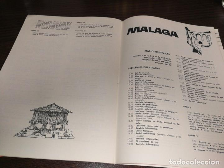 Radios antiguas: BOLETÍN OFICIAL RADIO NACIONAL ESPAÑA 1966 - Foto 3 - 225079397