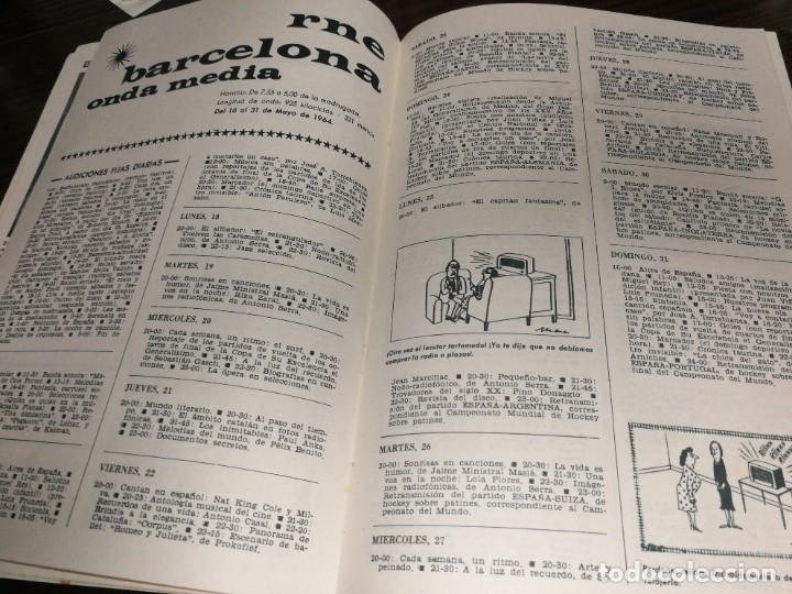 Radios antiguas: BOLETÍN OFICIAL RADIO NACIONAL ESPAÑA 1964 - Foto 4 - 225079485