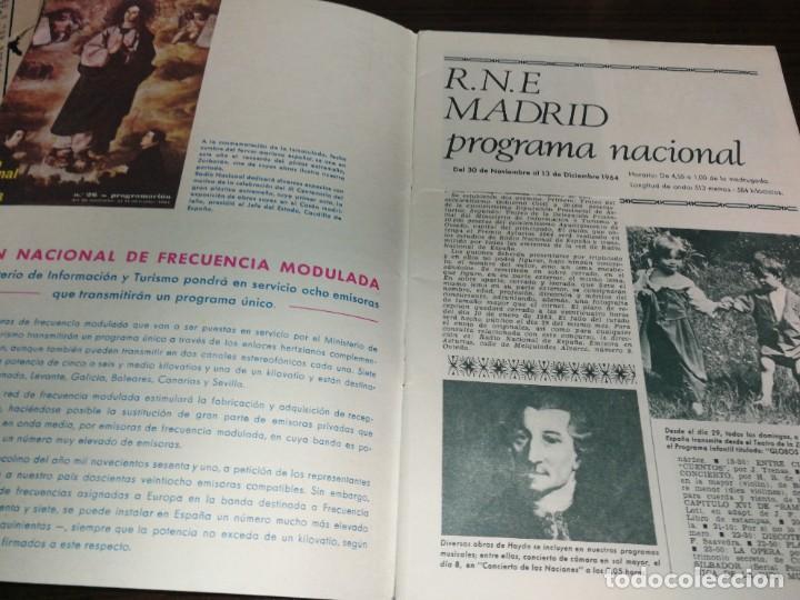 Radios antiguas: BOLETÍN OFICIAL RADIO NACIONAL ESPAÑA 1964 - Foto 2 - 225079541