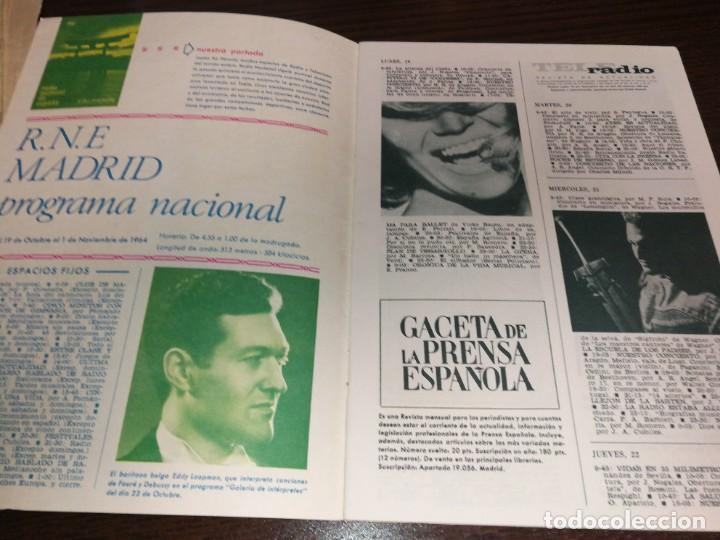 Radios antiguas: BOLETÍN OFICIAL RADIO NACIONAL ESPAÑA 1964 - Foto 2 - 225079650