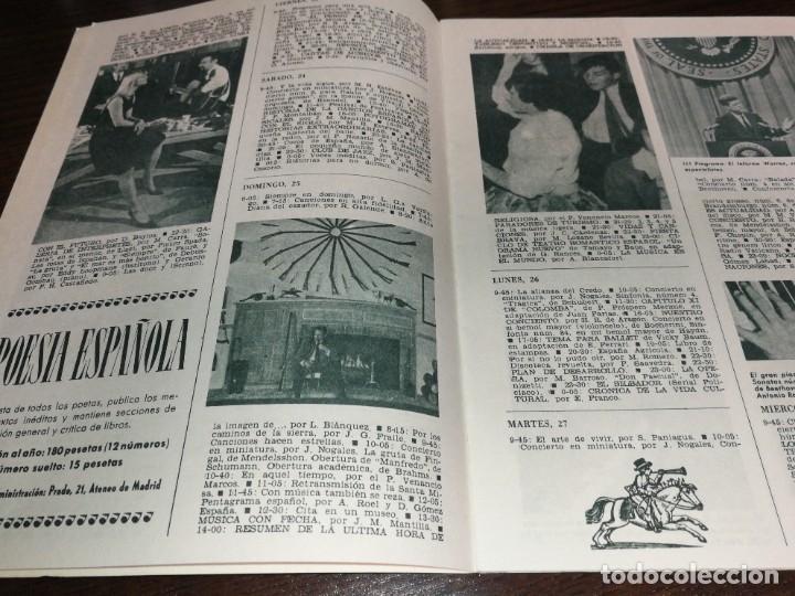Radios antiguas: BOLETÍN OFICIAL RADIO NACIONAL ESPAÑA 1964 - Foto 3 - 225079650