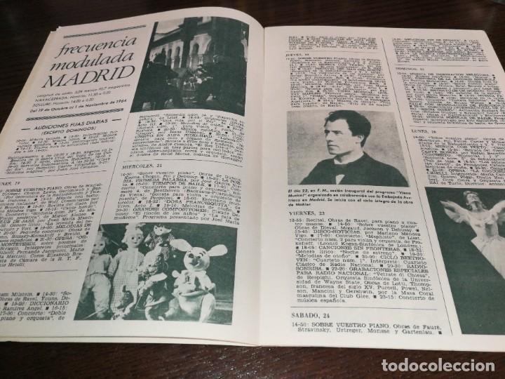 Radios antiguas: BOLETÍN OFICIAL RADIO NACIONAL ESPAÑA 1964 - Foto 5 - 225079650