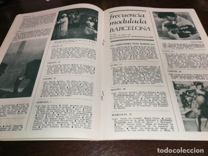 Radios antiguas: BOLETÍN OFICIAL RADIO NACIONAL ESPAÑA 1964 - Foto 6 - 225079650