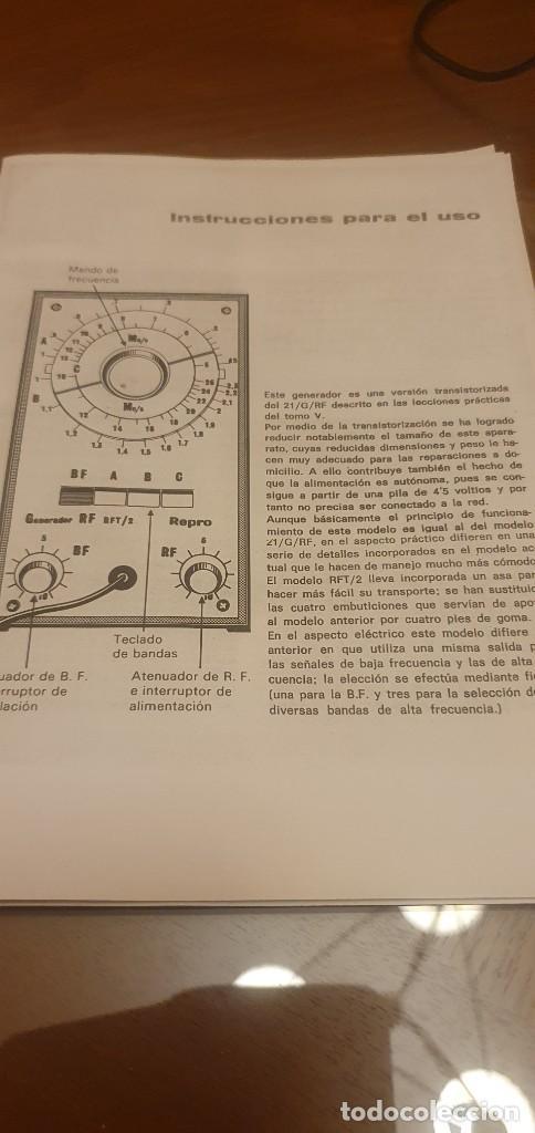 Radios antiguas: Esquema generador RFT/2 - Foto 2 - 226133380