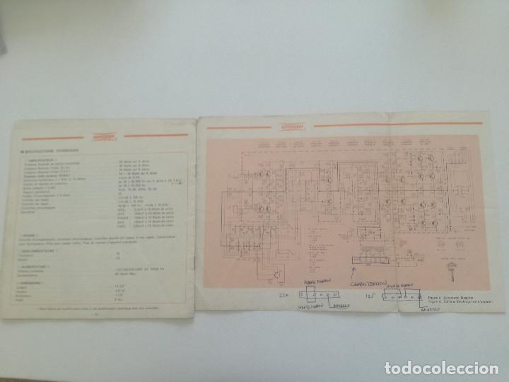 Radios antiguas: SUPERSCOPE MODEL A-245 // MANUAL DE INSTRUCCIONES AMPLIFCADOR STEREO USA AÑOS 60 // A245 - Foto 5 - 226441885