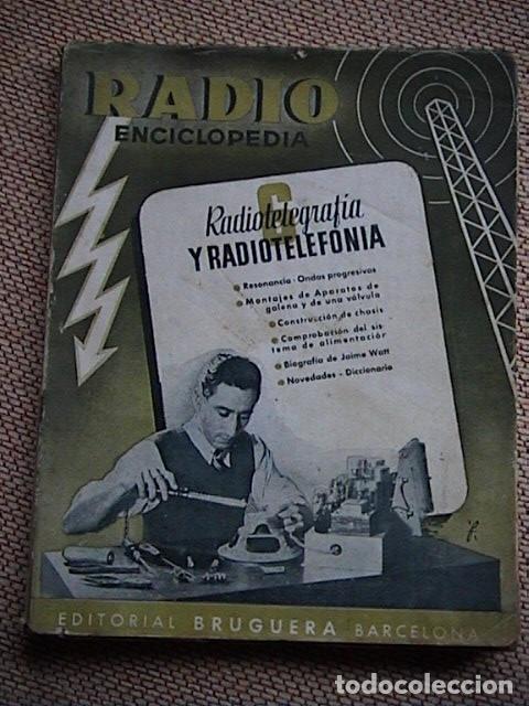 Radios antiguas: Lote 8 tomos de Radio Enciclopedia. R. J. Darkness - Foto 2 - 229680515