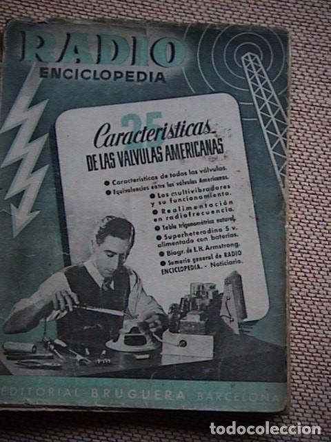 Radios antiguas: Lote 8 tomos de Radio Enciclopedia. R. J. Darkness - Foto 4 - 229680515
