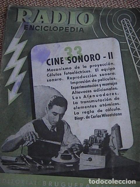 Radios antiguas: Lote 8 tomos de Radio Enciclopedia. R. J. Darkness - Foto 7 - 229680515