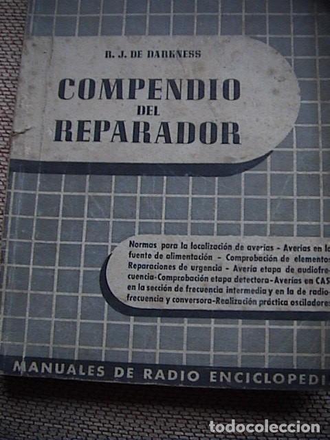 Radios antiguas: Lote 8 tomos de Radio Enciclopedia. R. J. Darkness - Foto 9 - 229680515