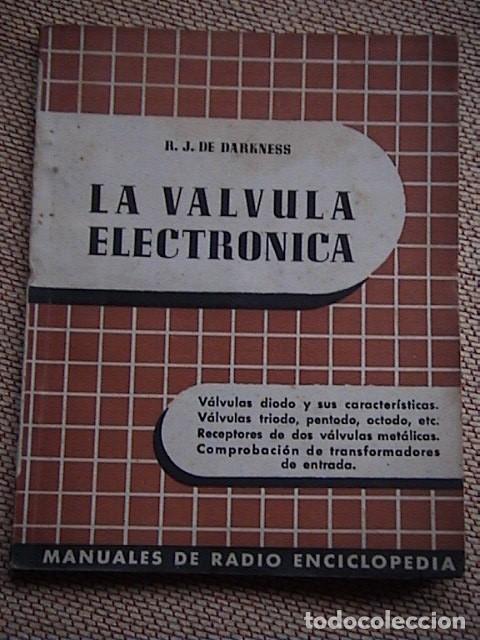 LOTE 8 TOMOS DE RADIO ENCICLOPEDIA. R. J. DARKNESS (Radios, Gramófonos, Grabadoras y Otros - Catálogos, Publicidad y Libros de Radio)