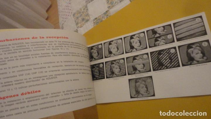 Radios antiguas: ANTIGUO MANUAL INSTRUCCIONES.TELEVISOR PORTATIL EMERSON MODELO HAPPY II. 1972? - Foto 5 - 229900975