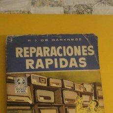 Radios antiguas: DARKNESS.REPARACIONES RAPIDAS.RADIO.BRUGUERA 1959.. Lote 230623965