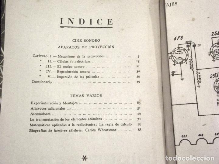 Radios antiguas: RADIO ENCICLOPEDIA - 33 CINE SONORO II - 1ª EDICIÓN (1946) - VER DESCRIPCIÓN Y FOTOS. - Foto 3 - 231303060