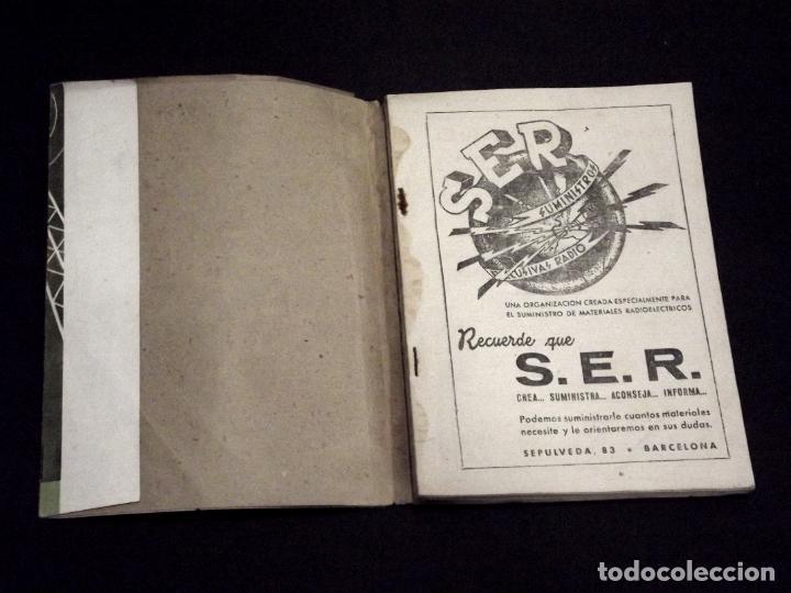 Radios antiguas: RADIO ENCICLOPEDIA - 33 CINE SONORO II - 1ª EDICIÓN (1946) - VER DESCRIPCIÓN Y FOTOS. - Foto 4 - 231303060
