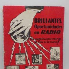 Radios antiguas: INSTITUTO DE RADIO LOS ANGELES- CALIFORNIA- CURSO DE RADIO. Lote 232955950