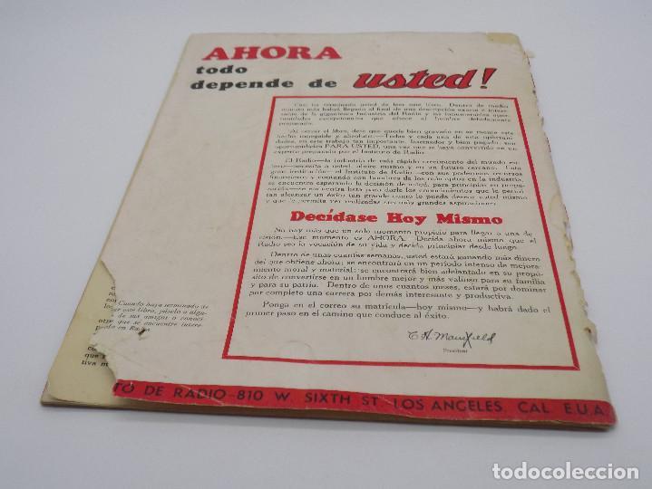 Radios antiguas: INSTITUTO DE RADIO LOS ANGELES- CALIFORNIA- CURSO DE RADIO - Foto 8 - 232955950