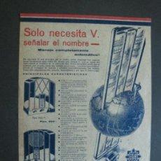 Rádios antigos: TELEFUNKEN-CATALOGO PUBLICIDAD-VER FOTOS-(K-1602). Lote 233599355