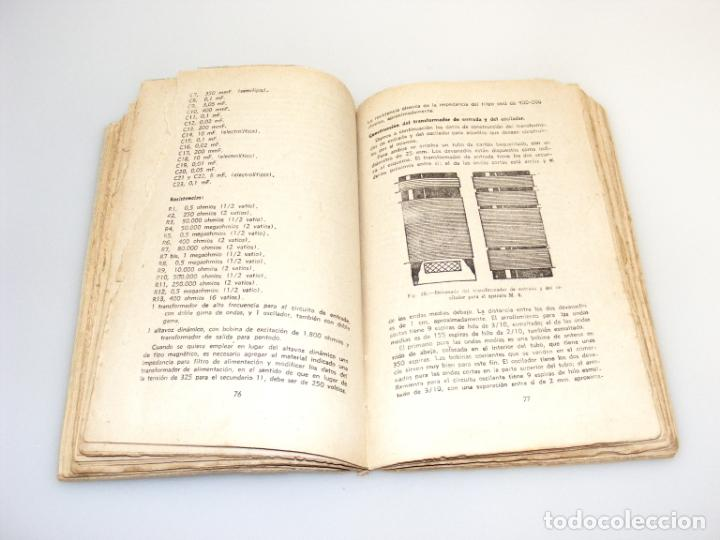 Radios antiguas: CONSTRUCCIÓN DE RADIO RECEPTORES - SEGUNDA EDICIÓN (1943) - G.MECOZZI - VER DESCRIPCIÓN. - Foto 3 - 233873520