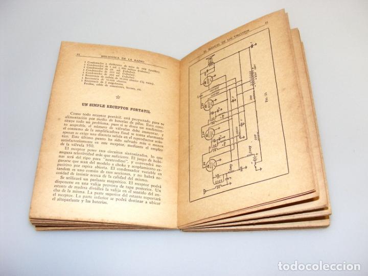 Radios antiguas: EL MANUAL DE LOS CIRCUITOS (1944) - BIBLIOTECA DE LA RADIO - VER DESCRIPCIÓN. - Foto 2 - 233885050