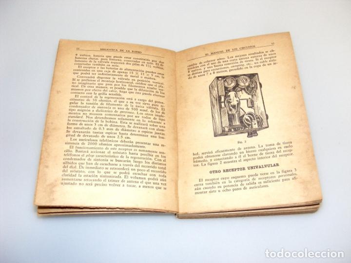 Radios antiguas: EL MANUAL DE LOS CIRCUITOS (1944) - BIBLIOTECA DE LA RADIO - VER DESCRIPCIÓN. - Foto 3 - 233885050