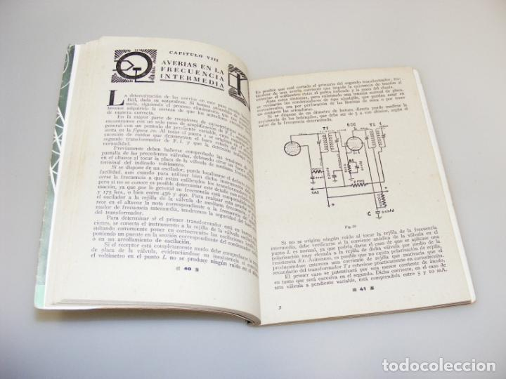 Radios antiguas: COMPENDIO DEL REPARADOR - 1ª EDICIÓN (1946) - RADIO ENCICLOPEDIA - VER DESCRIPCIÓN. - Foto 2 - 233895130