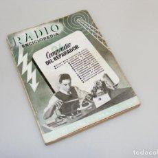 Radios antiguas: COMPENDIO DEL REPARADOR - 1ª EDICIÓN (1946) - RADIO ENCICLOPEDIA - VER DESCRIPCIÓN.. Lote 233895130