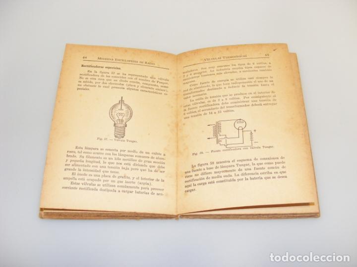Radios antiguas: RADIO (1946) - MODERNA ENCICLOPEDIA DE RADIO - VOLUMEN 10 - VER DESCRIPCIÓN. - Foto 2 - 233905330