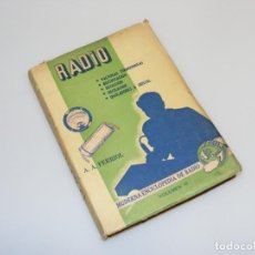 Radios antiguas: RADIO (1946) - MODERNA ENCICLOPEDIA DE RADIO - VOLUMEN 10 - VER DESCRIPCIÓN.. Lote 233905330