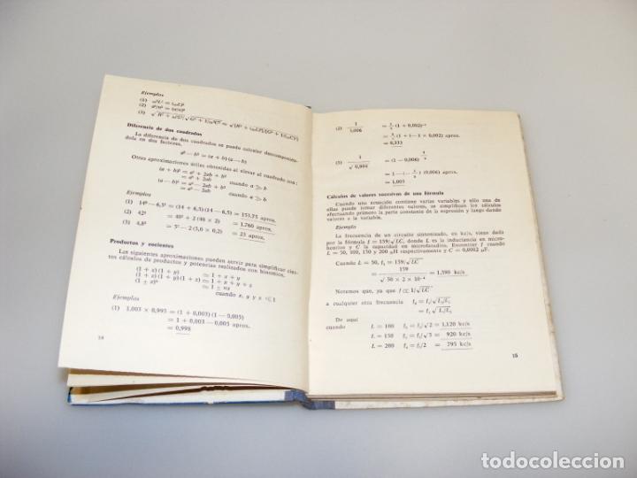 Radios antiguas: FÓRMULAS Y CÁLCULOS PARA ELECTRÓNICA Y RADIO (1968) - VER DESCRIPCIÓN. - Foto 2 - 233911495