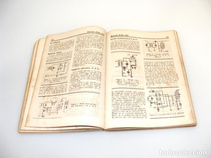 Radios antiguas: MEMENTO RADIO I (1945) - MARCOMBO - VER DESCRIPCIÓN. - Foto 2 - 233951775