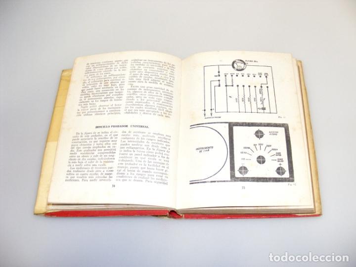 Radios antiguas: 122 INSTRUMENTOS DE MEDICIÓN (1946) - 1ª EDICIÓN - R. J. DE DARKNESS - VER DESCRIPCIÓN. - Foto 2 - 233955945