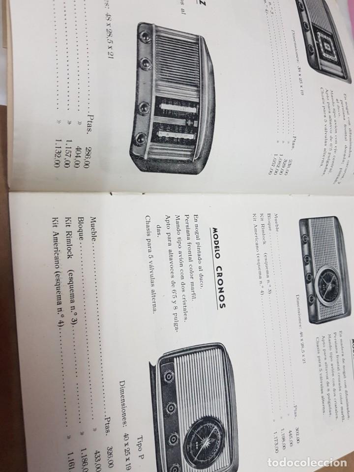 Radios antiguas: ANTIGUO CATALOGO APARATOS DE RADIO MAITE MADRID 1951 - Foto 3 - 234488935