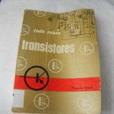 Radios antiguas: TODO SOBRE TRANSITORES. Lote 235560300