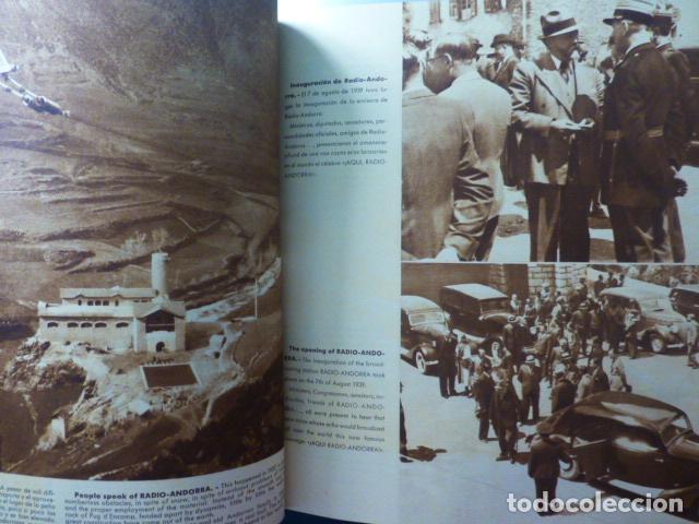 Radios antiguas: RADIO ANDORRA ¡AQUI RADIO ANDORRA! PRIMER LIBRO SOBRE RADIO ANDORRA. MUY RARO - Foto 4 - 236040510