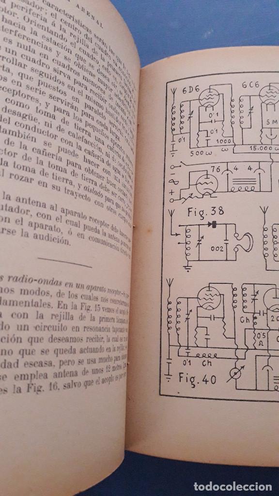 Radios antiguas: teoria y ptactica de electro radio y preparacion de aparatos receptores, j.a.de la lama, 1939 - Foto 3 - 236351410