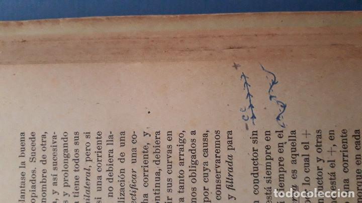 Radios antiguas: emision y recepcion de radio ondas, j.a.de la lama, 3 tomos, primera edicion 1942 - Foto 4 - 236352715