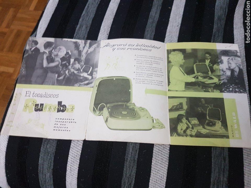 Radios antiguas: Difícil catálogo radio de Wald - Foto 2 - 236419230