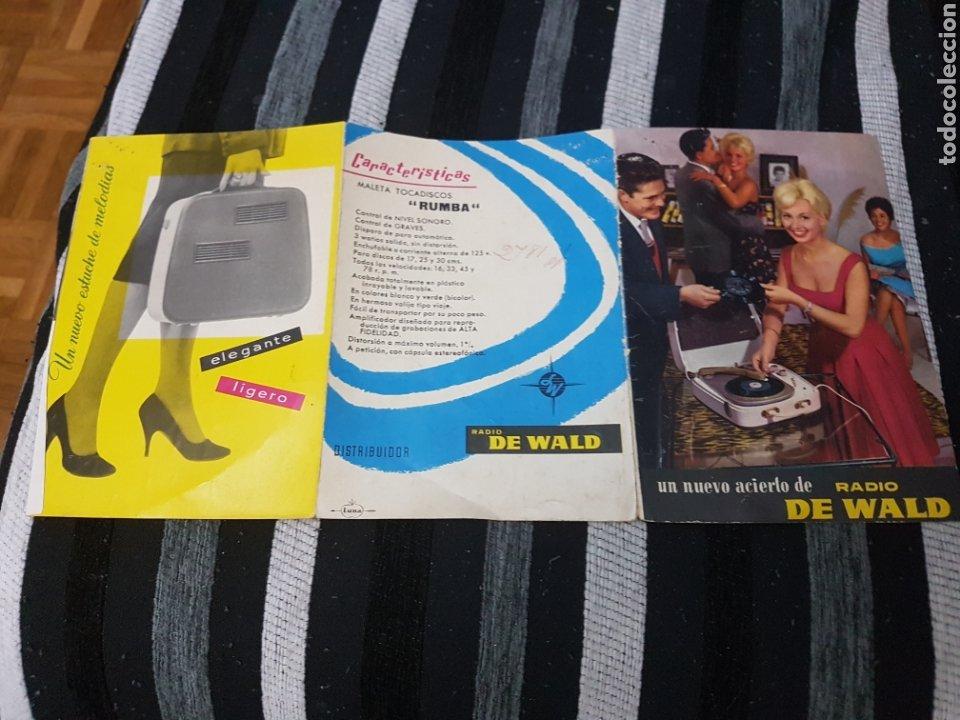 DIFÍCIL CATÁLOGO RADIO DE WALD (Radios, Gramófonos, Grabadoras y Otros - Catálogos, Publicidad y Libros de Radio)