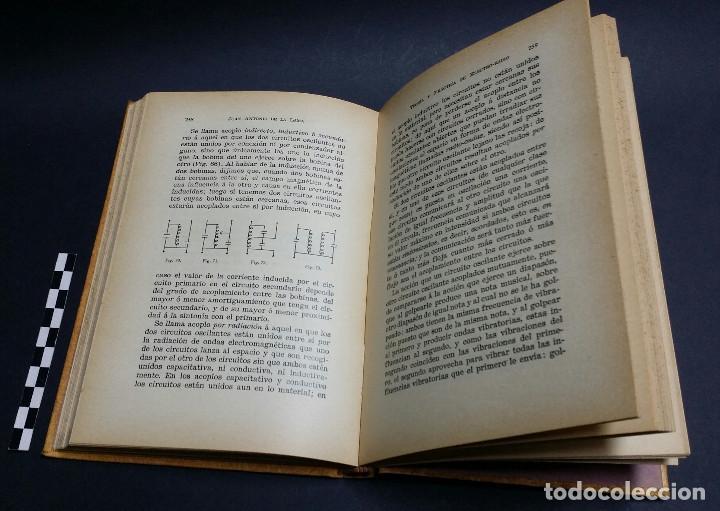 Radios antiguas: Teoría y práctica de Electro-Radio, Juan Antonio de la Lama , 1ª edición 1935. - Foto 5 - 241481960
